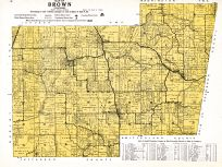 Brown Township, Ripley and Franklin Counties 1921